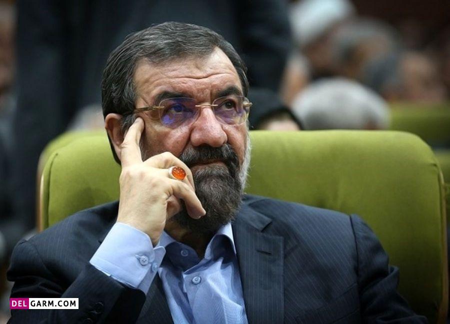 عکس محسن رضایی برای انتخابات