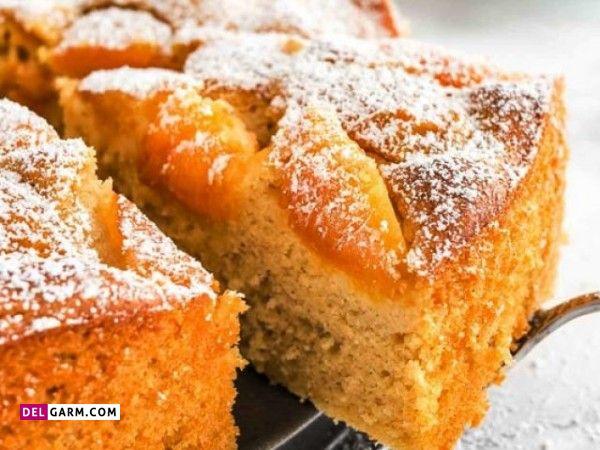 طرز تهیه کیک زردآلو