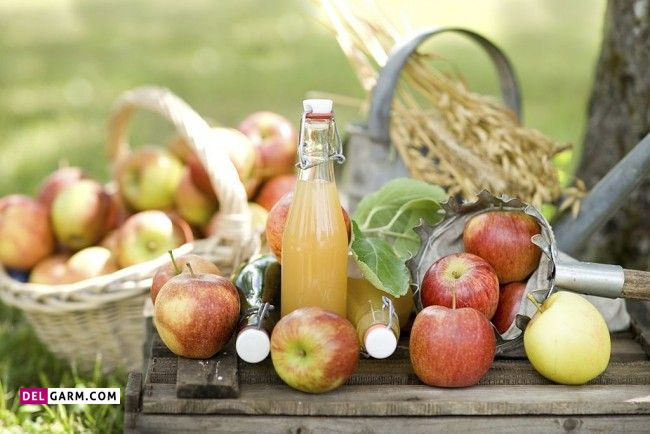 طرز تهیه آب سیب