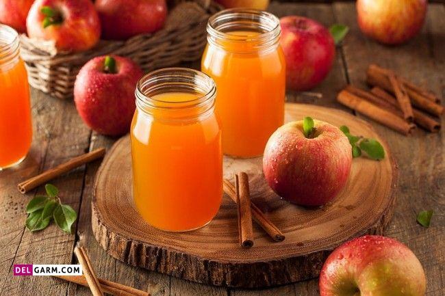 طرز تهیه شربت سیب