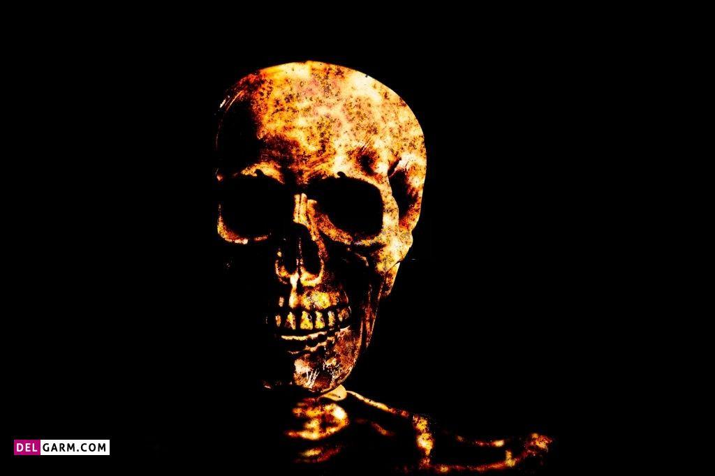 عکس پروفایل اسکلت