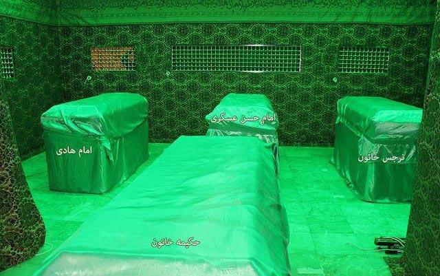 عکس قبر امام حسن عسکری