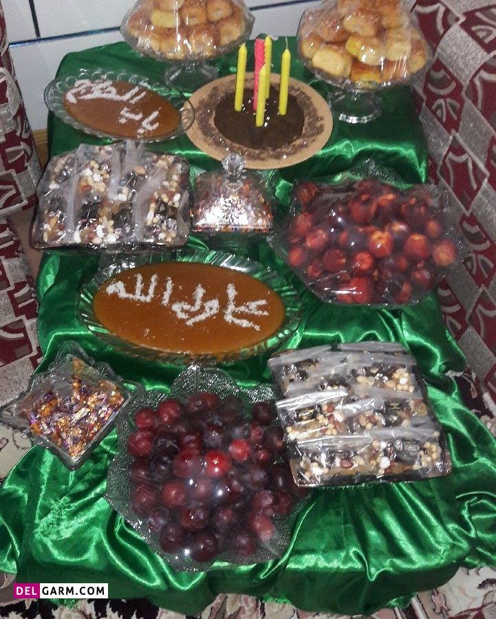 تزیین سفره عید غدیر