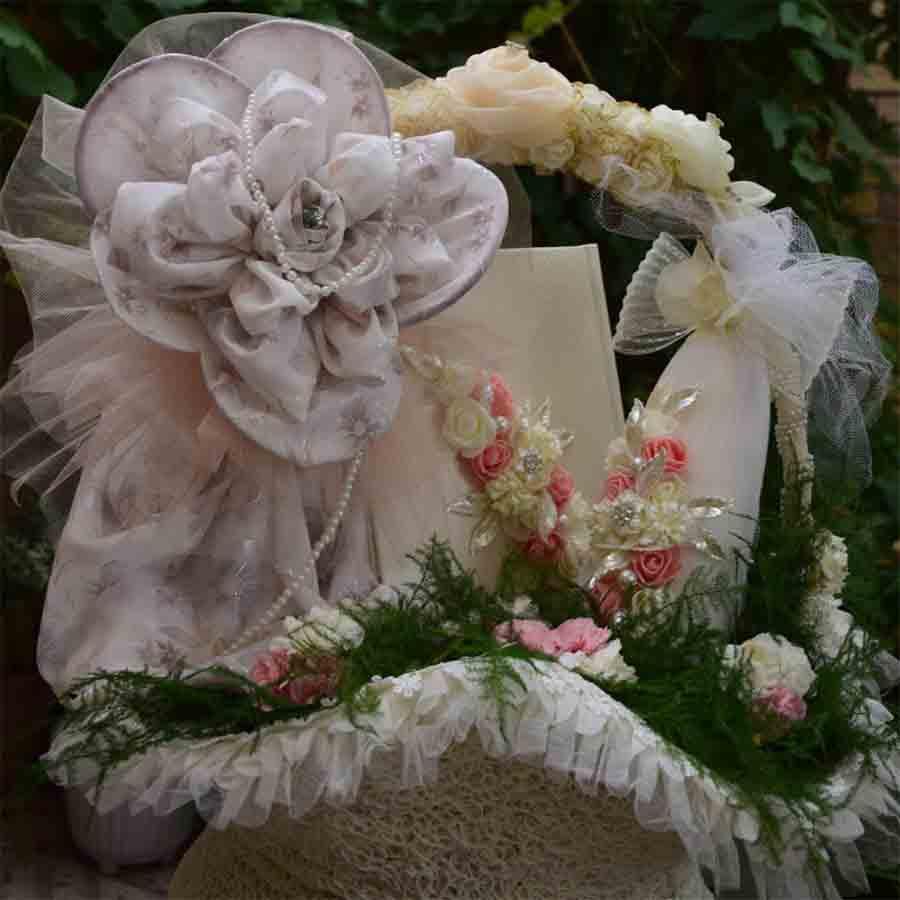 تزیین چادر عروس