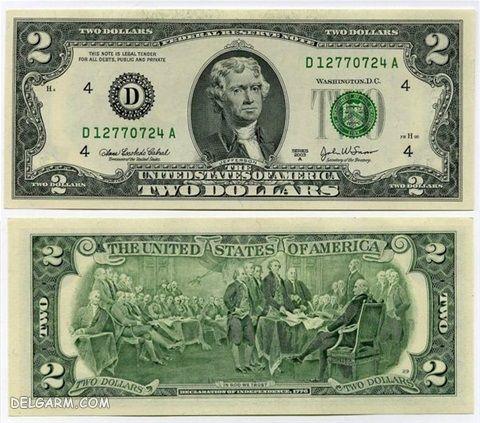 عکس ابراهام لینکلن روی دلار/معنی عکس های روی دلار
