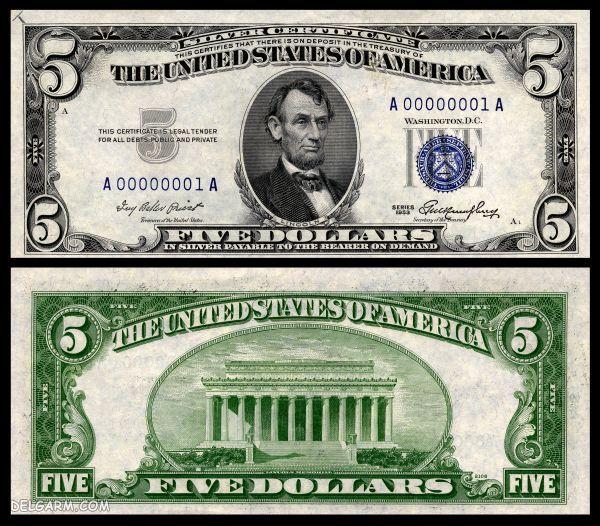 عکس روی ده دلاری کیست/عکس دلار زیاد