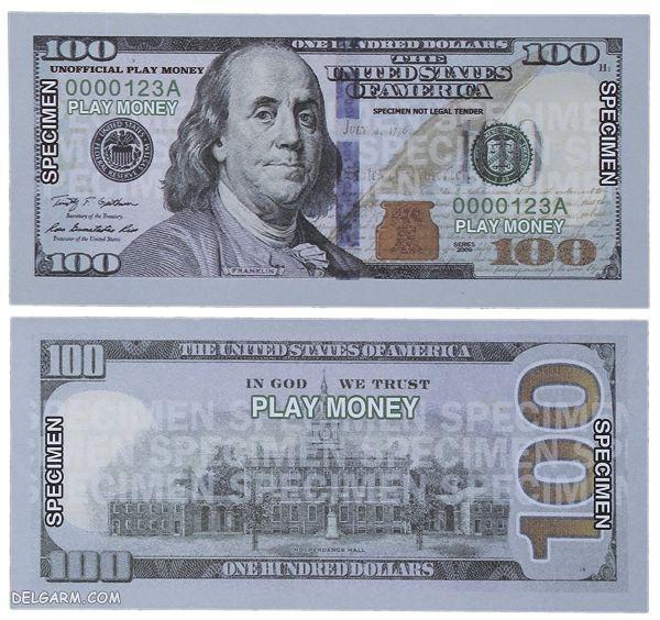 عکس کیف دلار/عکس های روی دلار