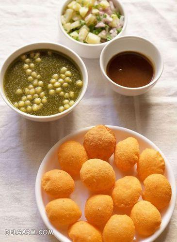 طرز تهیه نان پفکی هندی