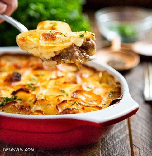 روش پخت سوفله سبزیجات/سوفله سبزیجات با پنیر