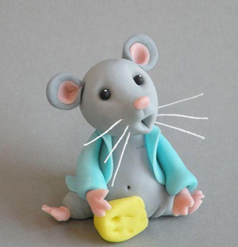 آموزش موش خمیری برای شب عیدی عروس