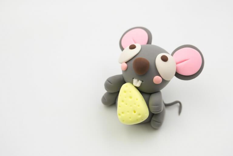 طرح موش خمیری برای عید نوروز