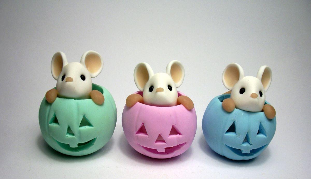 ساخت موش عروسکی برای سفره هفت سین