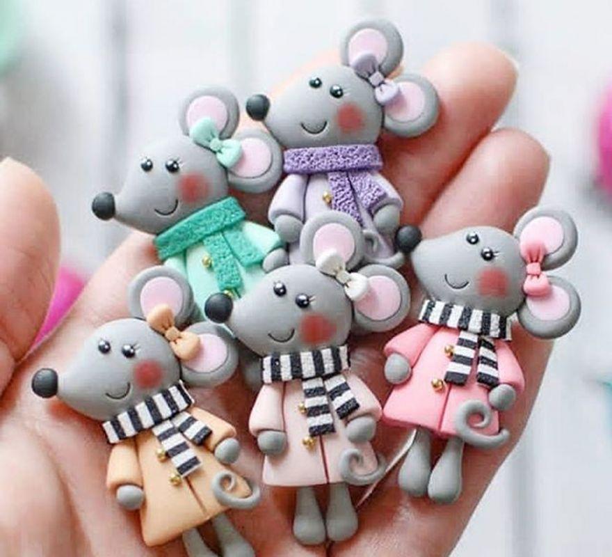 عروسک خمیری موش کوچک