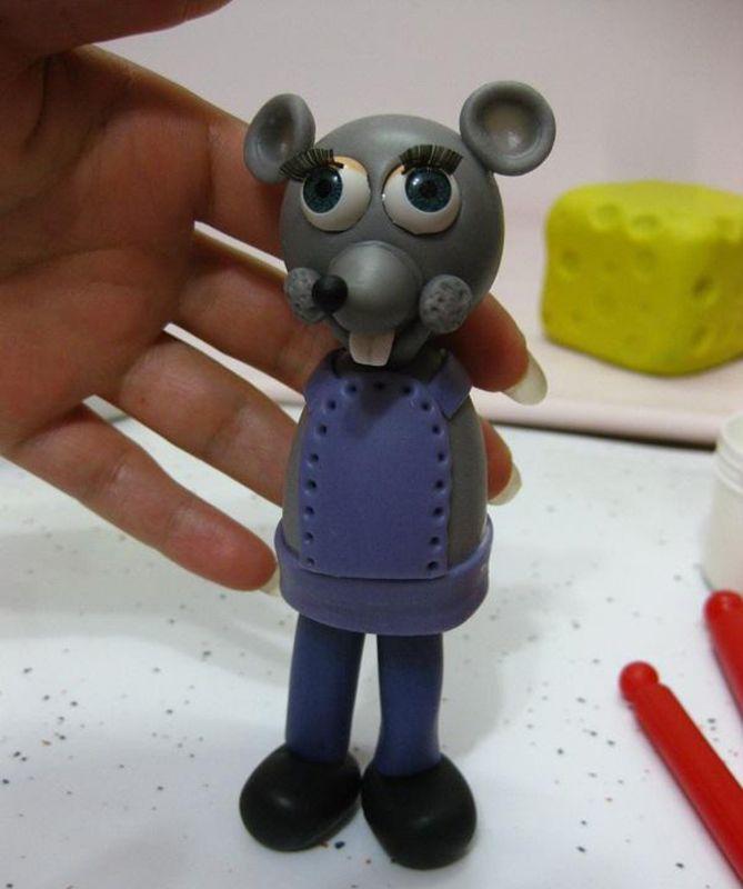 موش خمیری بامزه