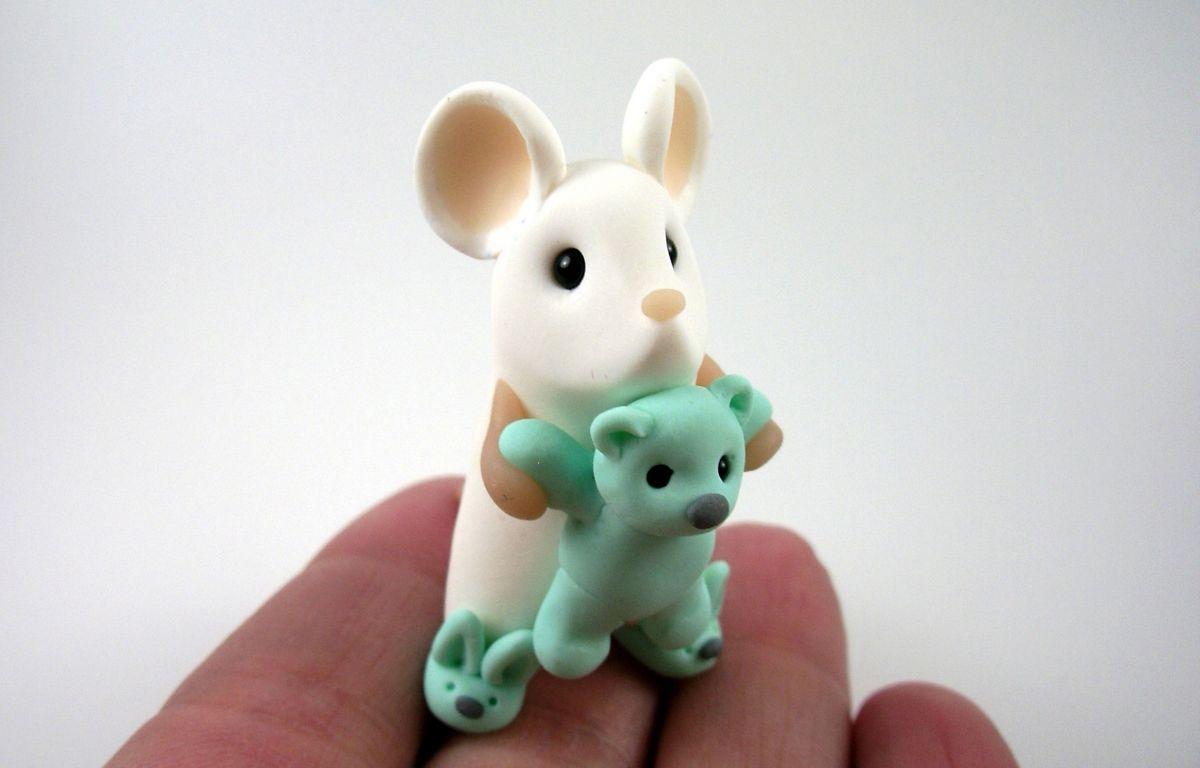موش خمیری ساده
