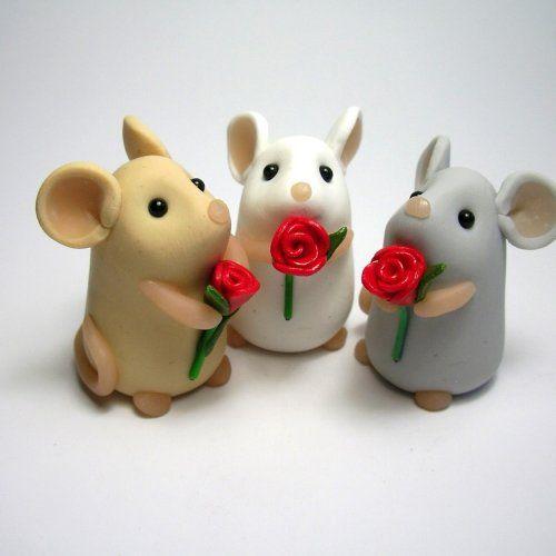 مدل عروسک خمیر چینی موش