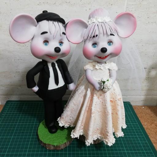 عروسک خمیری فانتزی/موش عروسکی