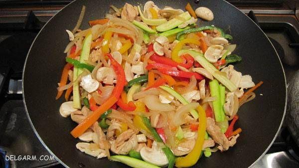 روش پخت غذاهای چینی خوشمزه
