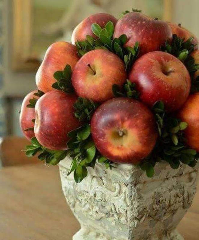 ایده برای تزیین سیب سفره هفت سین