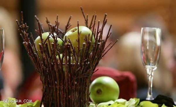 مدل تزیین سیب هفت سین
