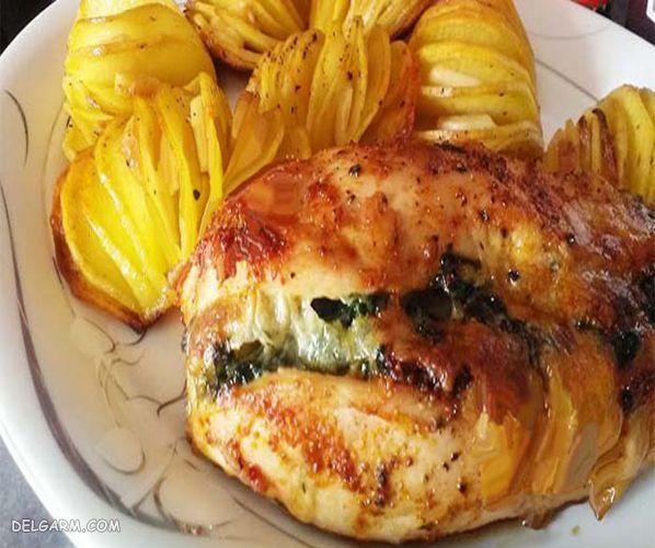 غذا با سینه مرغ