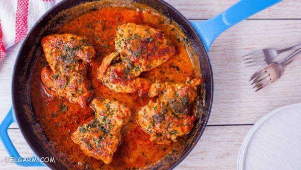 آموزش غذای خوشمزه با سینه مرغ