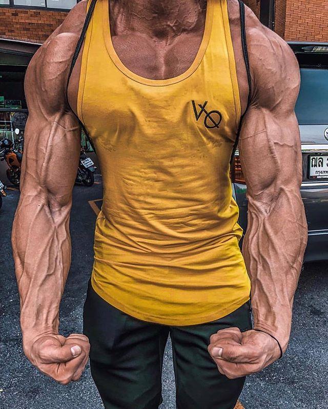 چگونه رگ های عضلات را برجسته کنیم