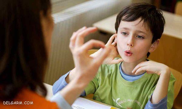 علت لکنت زبان کودکان