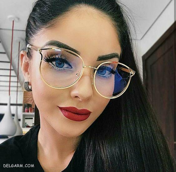 عینک طبی دخترانه شیک