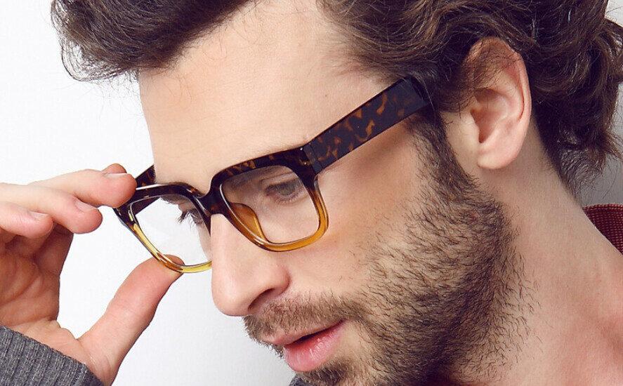 عینک طبی مردانه بدون فریم