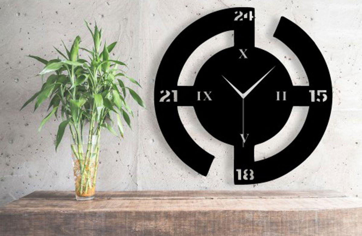 ساعت دیواری ساده