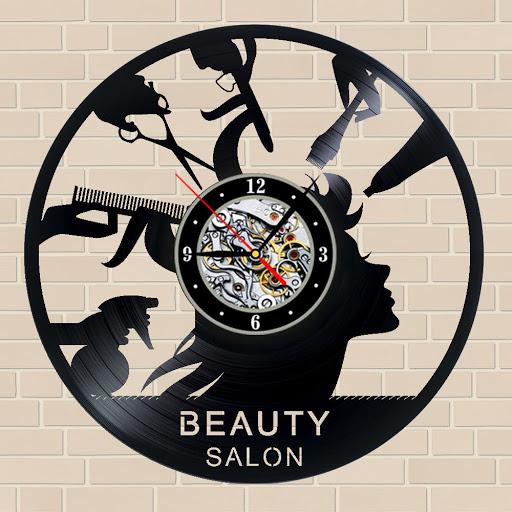 ساعت دیواری برای آرایشگاه زنانه