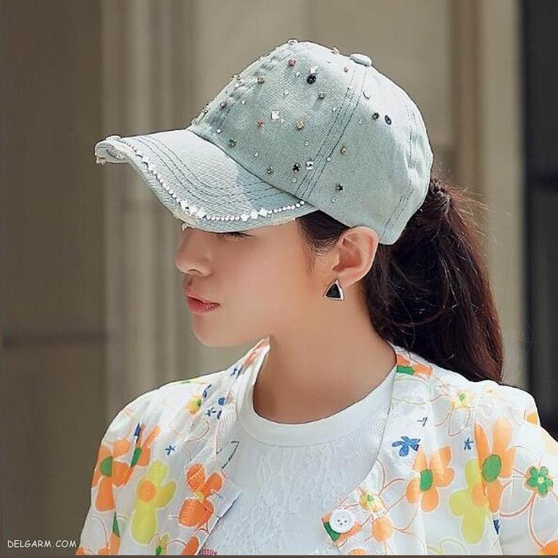 کلاه جین زنانه