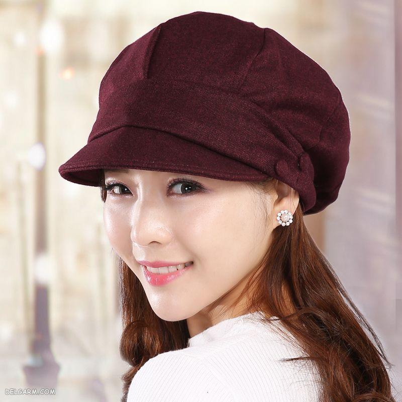 کلاه تابستانی دخترانه پولکی