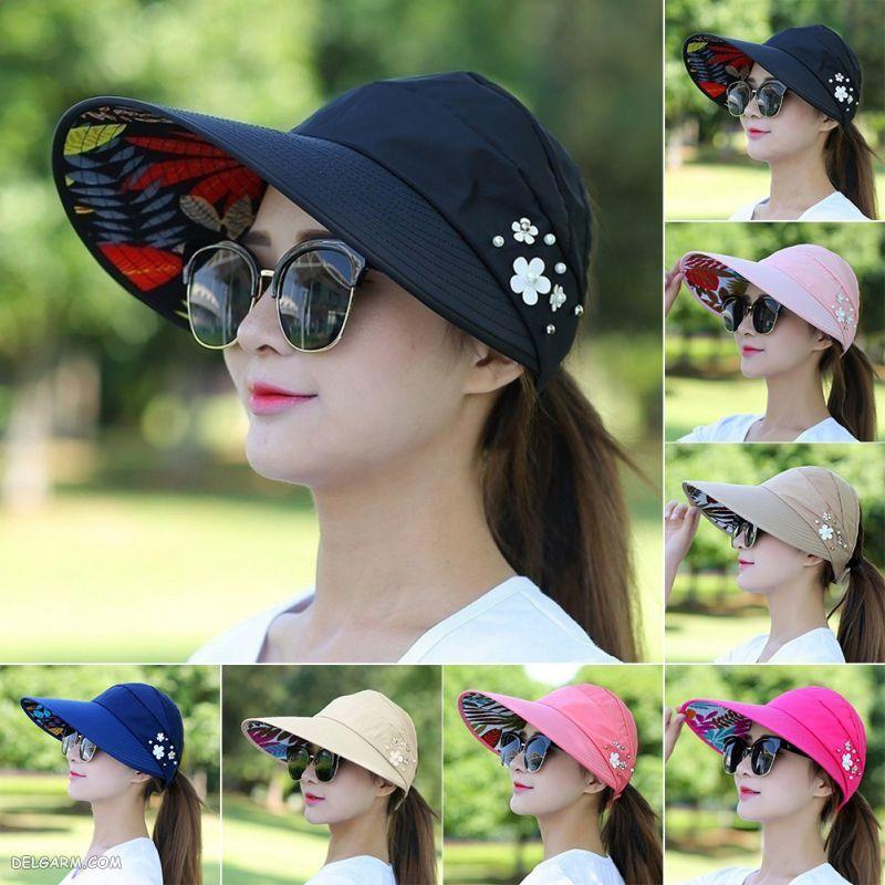 کلاه تابستانی زنانه شیک