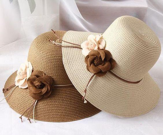 کلاه زنانه برای تابستان