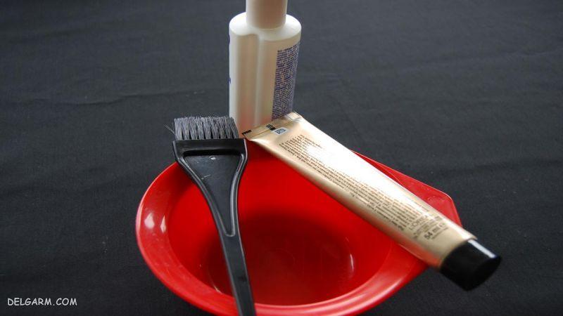 نحوه پاک کردن لکه رنگ مو از روی فرش