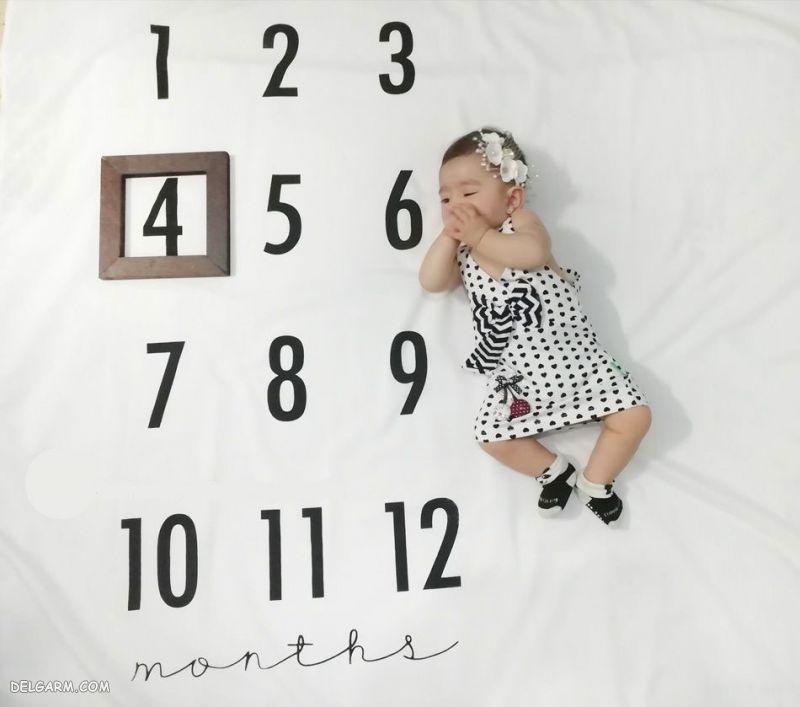 نوزاد چهار ماهه چه توانایی هایی دارد