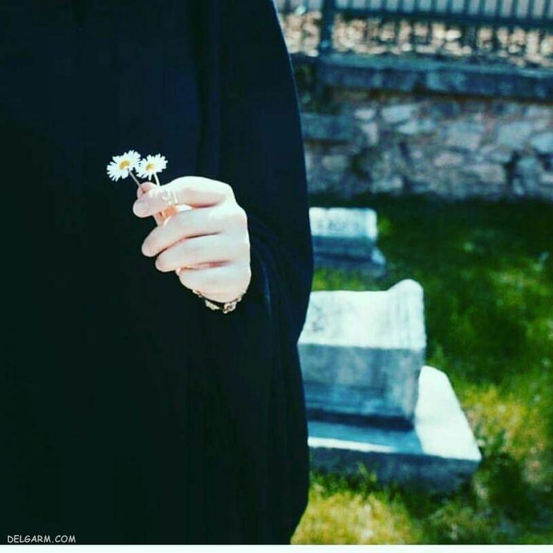عکس دختر چادری پروفایل