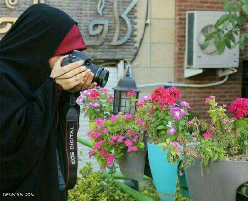 عکس دختر باحجاب برای پروفایل