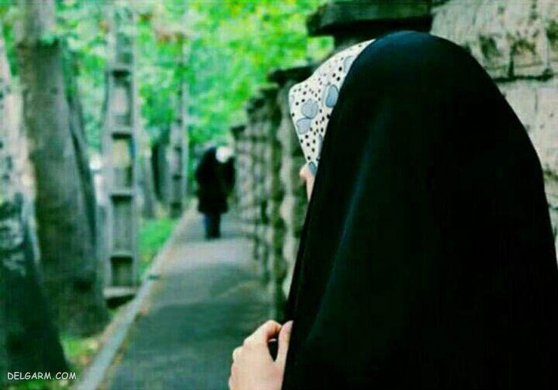 عکس دختر باحجاب فانتزی