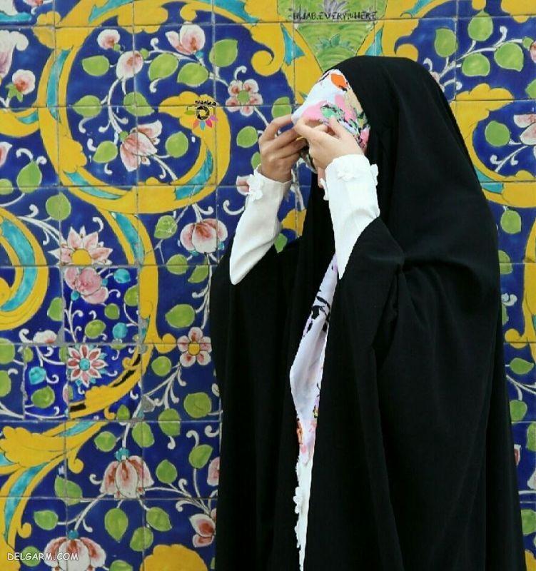 عکس دختر با حجاب زیبا