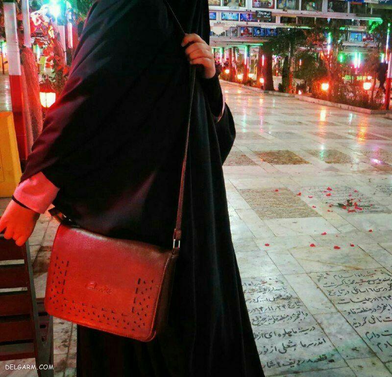 عکس دختر باحجاب چادری