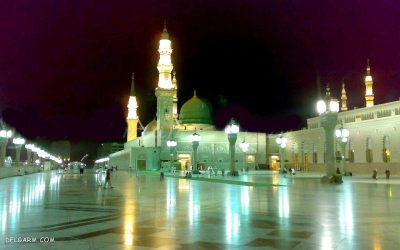 عکس جدید مسجد النبی