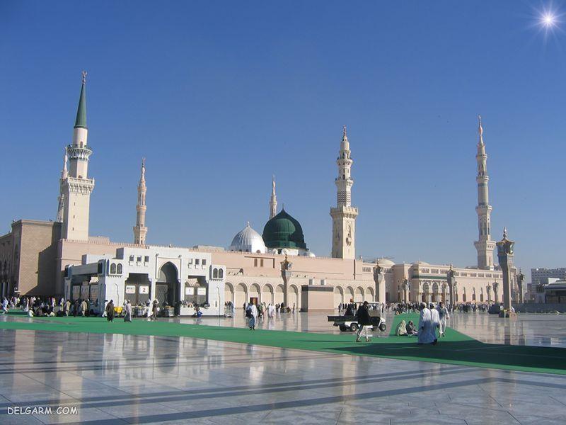 عکس مسجد النبی برای پروفایل