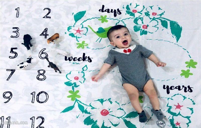 توانایی نوزاد 6 ماهه