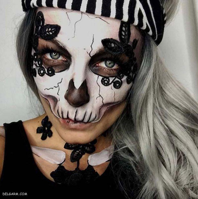گریم ترسناک برای هالووین