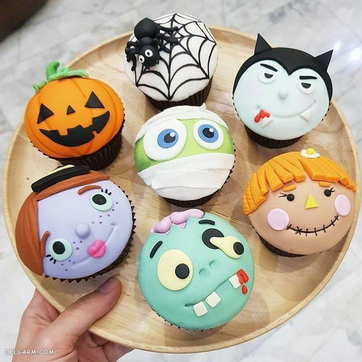طرز تهیه کیک هالووین