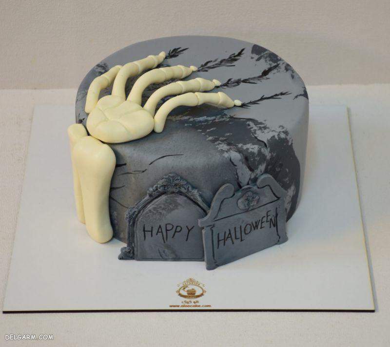آموزش کیک هالووین