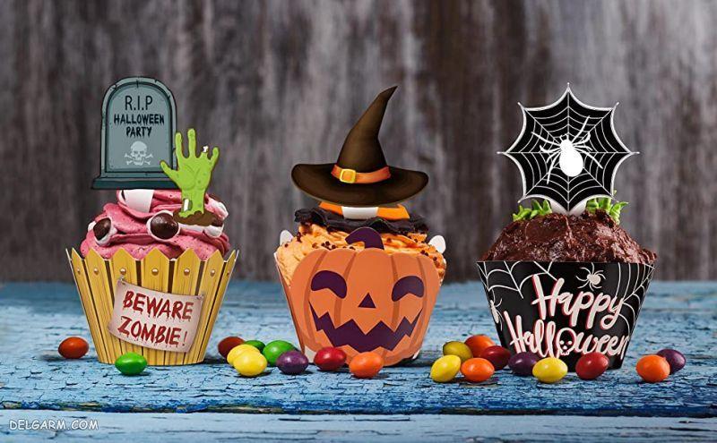 کیک های هالووین